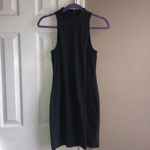 American Eagle Mock Neck Bodycon Dress